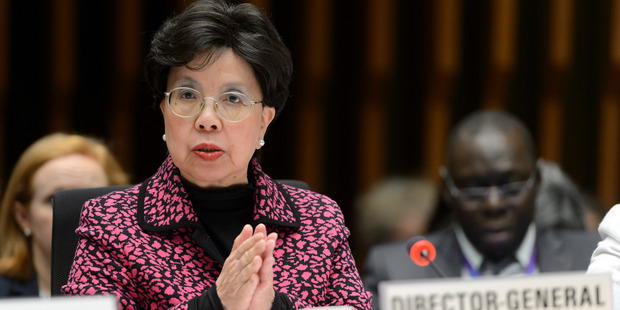 China's Margaret Chan, General Director of the World Health Organization. Photo / AP