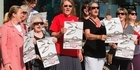 Watch: Watch: Protest against proposed aged care development