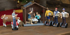 Image from the ' Modern Nativity ' set Photo supplied to the New Zealand Herald