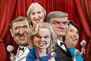 National's got talent? Illustration / Rod Emmerson