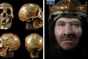 A reconstruction of the face of Robert The Bruce. Photo / University of Glasgow