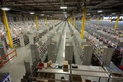 """A """"fulfillment centre"""" gearing up for the Christmas shopping season. Photo / Daily Mail"""