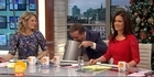 Watch: Watch: Piers Morgan vomits on Good Morning Britain