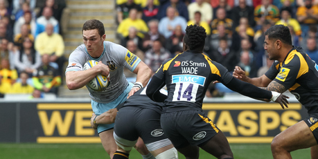 George North in action. Photo / AP