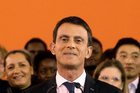 French Prime Minister Manuel Valls announces his candidacy for the Socialist primary next month. Photo / AP