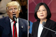 US President-elect Donald Trump took a congratulatory phone call from Taiwan's President Tsai Ing-wen, which has sparked some concern. Photo / AP