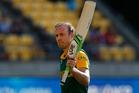 South African captain AB de Villiers. Photo / Mark Mitchell