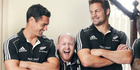 Byron Coll appeared in several Mastercard ads as All Blacks superfan 'Tim'.