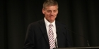 Watch: Listen: Bill English ponders the future of politics