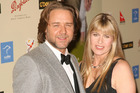 Russell Crowe and Terri Irwin are close friends. Photo / Getty