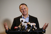 Prime Minister John Key resigned in a shock announcement today. Photo / Getty