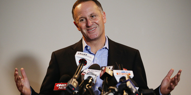 Loading Prime Minister John Key resigned in a shock announcement today. Photo / Getty