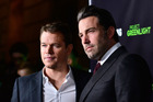 Matt Damon and Ben Affleck star in 'Project Greenlight' which you can watch on Youtube. Photo / Getty