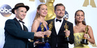 The all-white winners of the Best Acting Oscars at this years ceremony. Photo/Getty