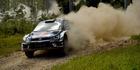 Sebastien Ogier during WRC Australia. Photo / Getty Images