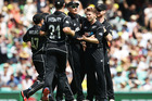 Lockie Ferguson was one new face the Black Caps introduced against Australia. Photo / Getty