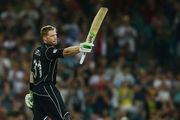 Martin Guptill was the top batsman for New Zealand. Photo / Getty