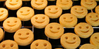 A UK mum claims she only ate yellow, white and brown food, including potato smiley faces. Photo / Getty Images