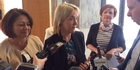 Watch: Watch: Nikki Kaye returns to Parliament