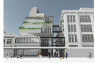An illustration of how the new project on Karangahape Rd could look.