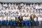 The Castle Hill RSL Youth Wind Orchestra from Australia is visiting Rotorua.