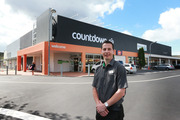 Wiebe van der Veen, Countdown Mt Eden store manager, outside the upgraded, larger store. Photo/Doug Sherring