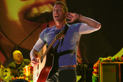 Chris Martin delights the crowd Mt Smart Stadium. Photo / Steven McNicholl