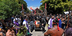 Maori leader Awanui Black was fare-welled by thousands after passing away on November 30. Photo/George Novak
