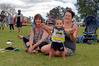Sharyn Read, with daughter Luana Ross and grandson Tristan Ross (11 months) enjoy this year's Welcome Bay Family Fun Day. Photo/George Novak
