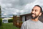 Binoy Madathiparambil-Bhavanandan and his wife have bought their first home on May Rd, Mangakakahi. PHOTO/STEPHEN PARKER