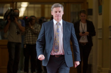 More than half of National's caucus are looking for favours - potentially from PM-in-waiting Bill English. Photo / Mark Mitchell