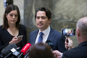 Transport Minister Simon Bridges is expected to announce his withdrawal from the deputy PM race today. Photo / Mark Mitchell