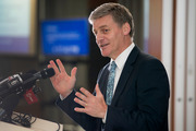Bill English says he's had a masterclass in leadership from John Key. Picture / Mark Mitchell