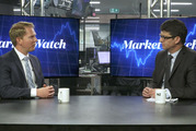 Market Watch 06 December 2016 Liam Dann, New Zealand Herald Business Editor At Large (right) and Pie Funds CEO Mike Taylor picture supplied still from NZ Herald video