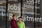 Jane Butler, left, and Barbara Jemison Tucker. 9 December 2016 Rotorua Daily Post Photograph by Ben Fraser
