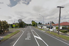 The man walked off along Peachgrove Road towards Te Aroha Street after attempting to grab the child. Photo / Google