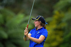 IN FORM: Bay of Plenty No 1 Alannah Campbell has led by example all week. PHOTO/NZ GOLF