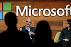 The companies' CEOs managed to keep Microsoft's acquisition of LinkedIn a secret right up until Monday's announcement. Photo / AP