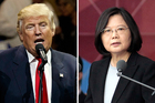 Trump has spoken to Taiwan President Tsai Ing Wen. Photo / AP