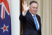 Labour and the Greens appeared quietly thrilled yesterday as they considered an election campaign next year without the popular, formidable John Key. Photo / AP