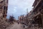 Mohammed Abu Jaafar, the head of the eastern Aleppo forensic authority, said 'there is nothing left except a few residents and bricks'. Photo / AP