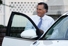 REVENGE: Mitt Romney has been made to grovel by president-elect Donald Trump.