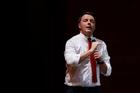 Italian Prime Minister Matteo Renzi's future is on the line. Photo / AP