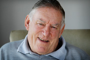 Sir Colin Meads believes he is overcoming the pancreatic cancer he was diagnosed with in August. Photo / file