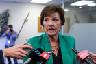 Please stop talking ... Social Development Minister Anne Tolley. Photo / Mark Mitchell