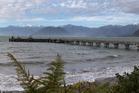 The wharf at Jackson Bay, West Coast. Photo / Mark Mitchell