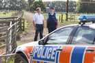 Federated Farmers rural crime portfolio leader Rick Powdrell, with Police Sergeant Mark Holmes, says farmers need  to report every crime and suspicious activity on their farms.
