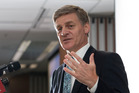Bill English, set to be the new prime minister, with Chester Borrows' - and Whanganui's - blessing.