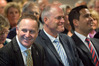 Prime Minister John Key has resigned - local politicians Todd Muller and Simon Bridges react. Photo/file