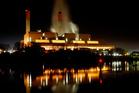 The Huntly Power Station is Genesis Energy's biggest generating asset.  Photo / Christine Cornege